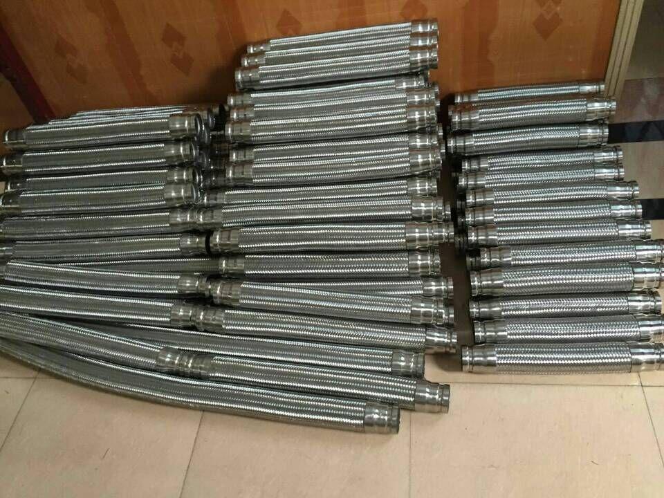 螺纹接口金属软管